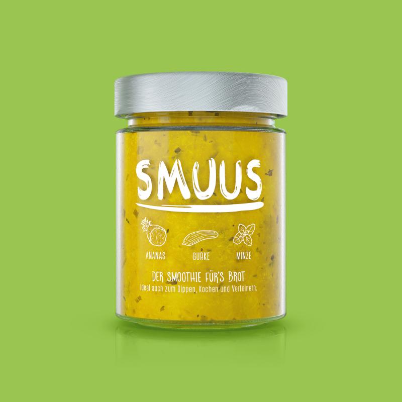 SMUUS Ananas - Gurke - Minze 280g