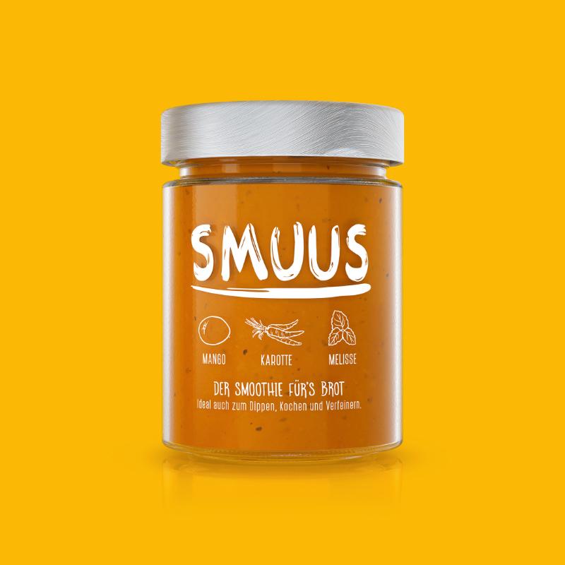 SMUUS Mango - Karotte - Melisse 280g